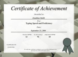 Certificate samples yadclub Gallery