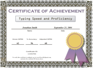 Sample certificates yadclub Choice Image